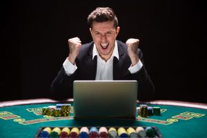 Online,Poker,Players,Sitting,At,The,Table